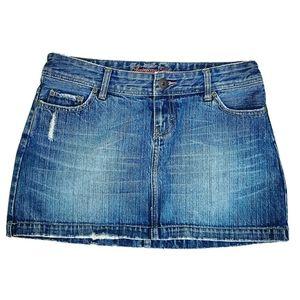 American Eagle Outfitters Womens Denim MiniSkirt 4